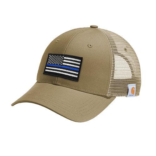 Carhartt ® Blue Stripe Flag Patch Rugged Professional ™ Series Cap CT103056