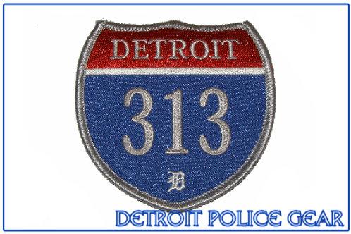 Detroit 313 Interstate Collectors Patch