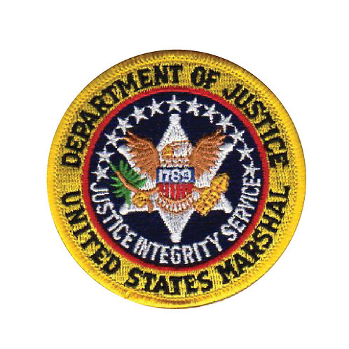United States Marshal Department of Justice Collectors Patch