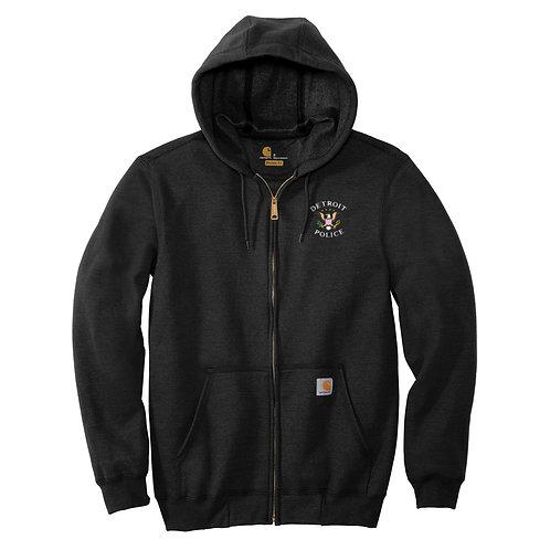 Carhartt ® Midweight Hooded Zip-Front Detroit Police Eagles Hoodie CTK122