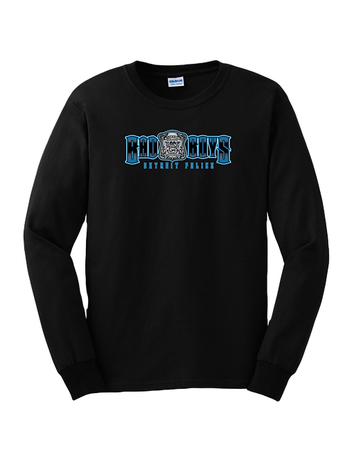 Detroit Police Bad Boys (Old Style) Long Sleeve Shirt