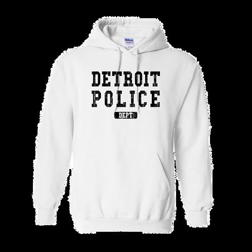 Detroit Police Dept. Washed Hoodie 18500