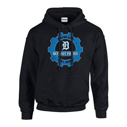Motor City Detroit Police Gear Hoodie 18500
