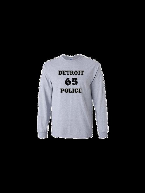 Detroit Police 65 Long Sleeve Shirt