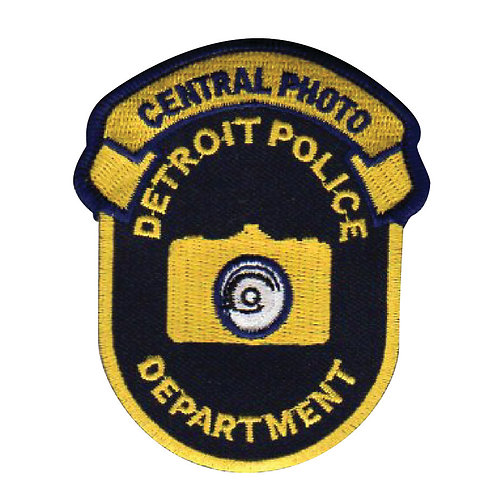 Detroit Police Department Central Photo Collectors Patch