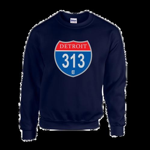 Detroit 313 Interstate Sweatshirt