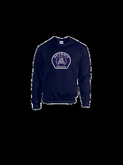 Detroit Police Car Patch Sweatshirt