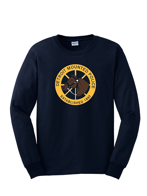 Detroit Mounted Police Long Sleeve Shirt