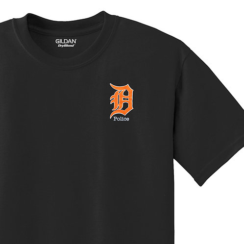 Detroit Police D Police T-Shirt