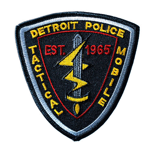 Detroit Police Tactical Mobile Collectors Patch