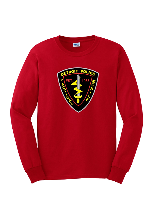 Detroit Police Tactical Mobile Long Sleeve Shirt