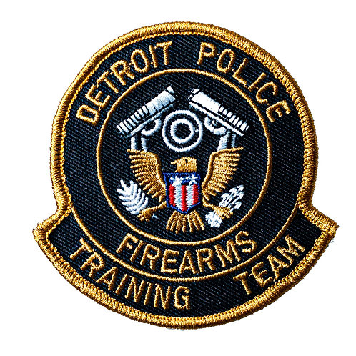 Detroit Police Firearms Training Team Collectors Patch