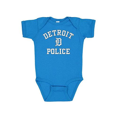 Detroit Police Old English D Onesie 4400