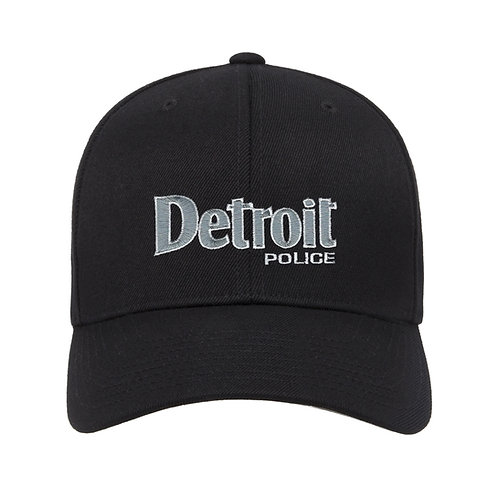 Detroit Police Low Profile Adjustable Hat