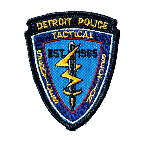 Detroit Police Tactical Services Section Collectors Patch (Old Style)