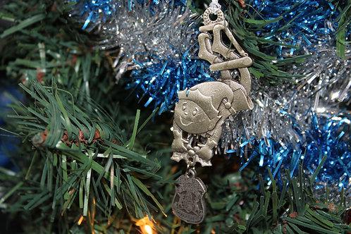 Detroit Police Elf Ornament