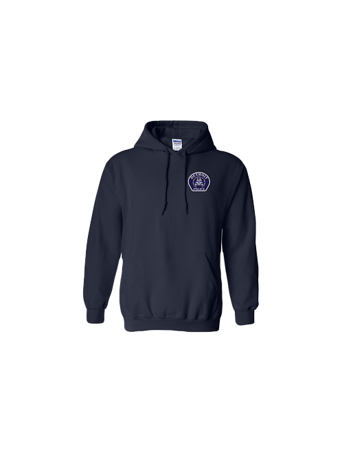 Detroit Police Car Patch (Left Chest) Hoodie