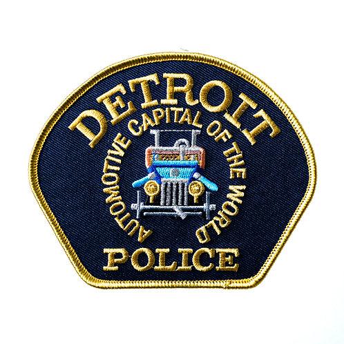 Detroit Police Car Patch
