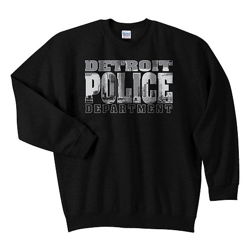 Detroit Police Department Skyline Sweatshirt