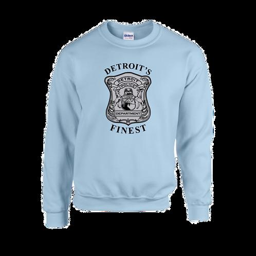Detroit Police Finest (Old Style) Badge Sweatshirt