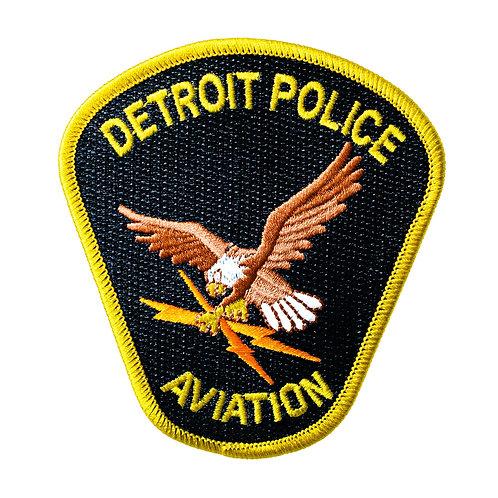 Detroit Police Aviation Collectors Patch