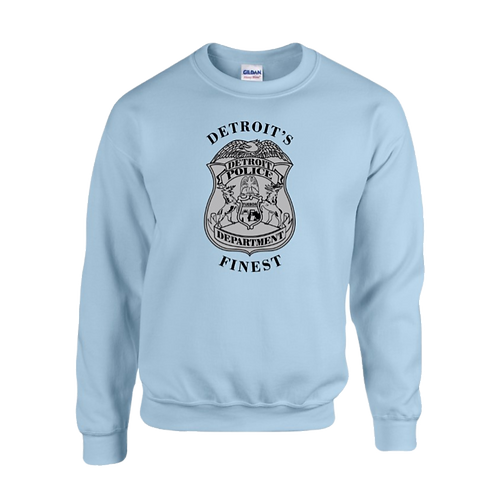 Detroit Police Finest Badge Sweatshirt