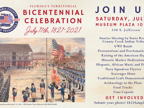 Florida's Territorial Bicentennial Celebration & Escambia County's 200th Anniversary Program