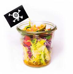 Focaccia-Zwiebel, Café Calamaro, Catering, Fingerfood, vegetarisch