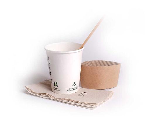 Café Calamaro, Nachhaltigkeit, Verpackung