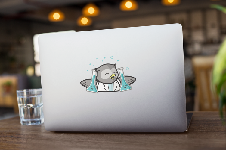 laptop-sticker-mockup-of-a-computer-on-w
