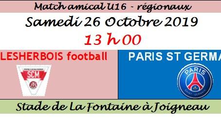 Le PSG à La Fontaine à Joigneau !