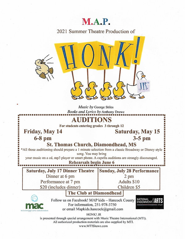 Honk auditions