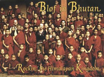 BLØF in BHUTAN - BOOK
