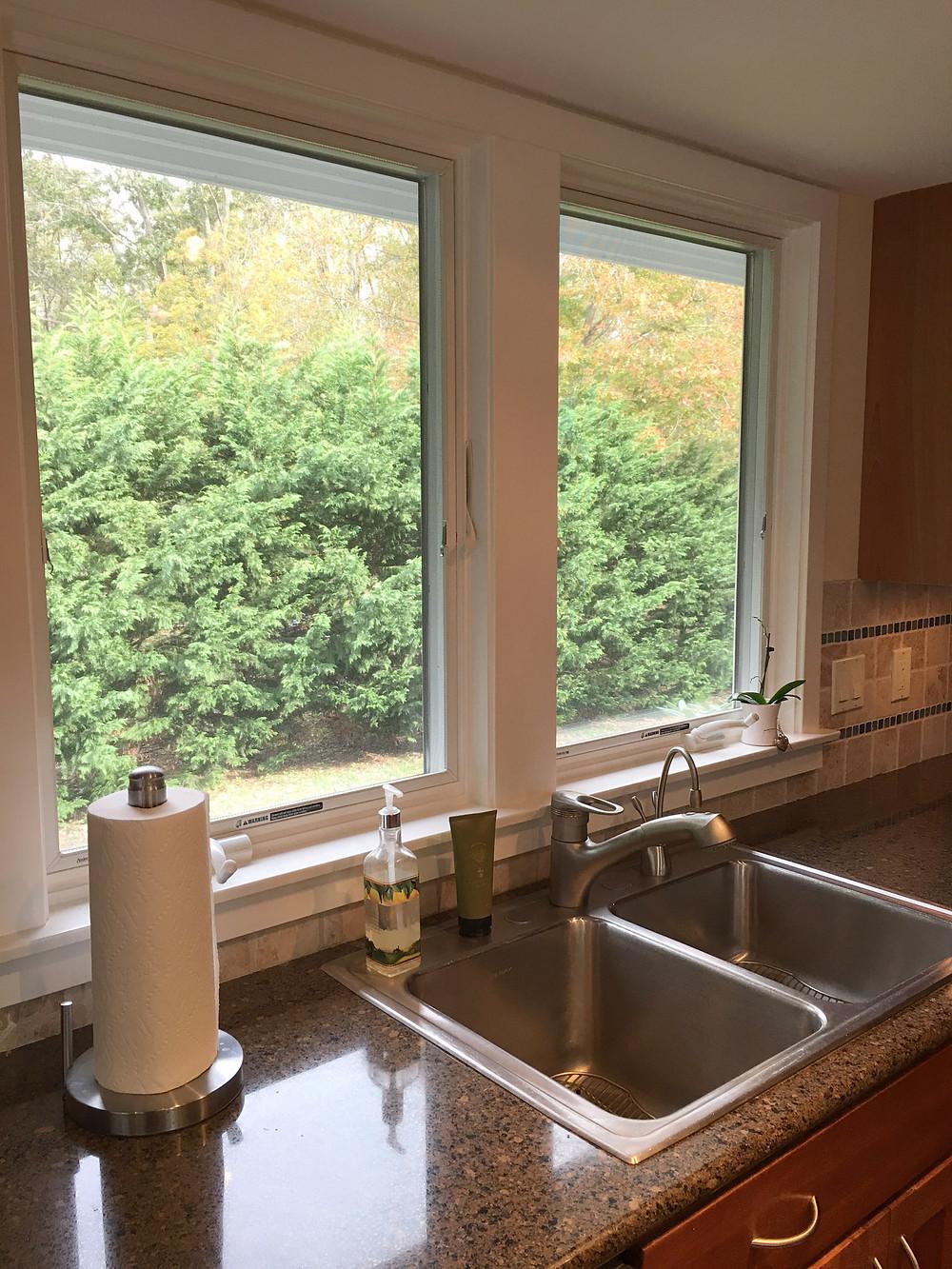 Casement Kitchen Window