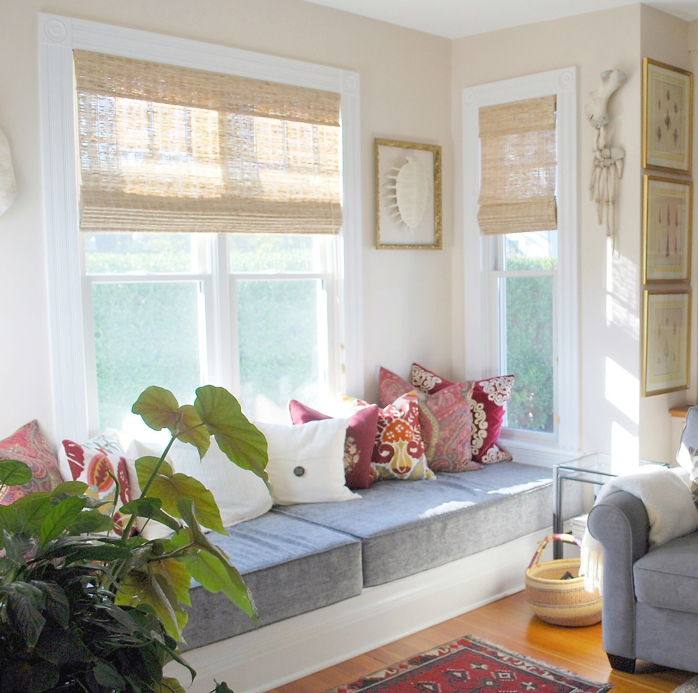 Bay Window With Interior Seating