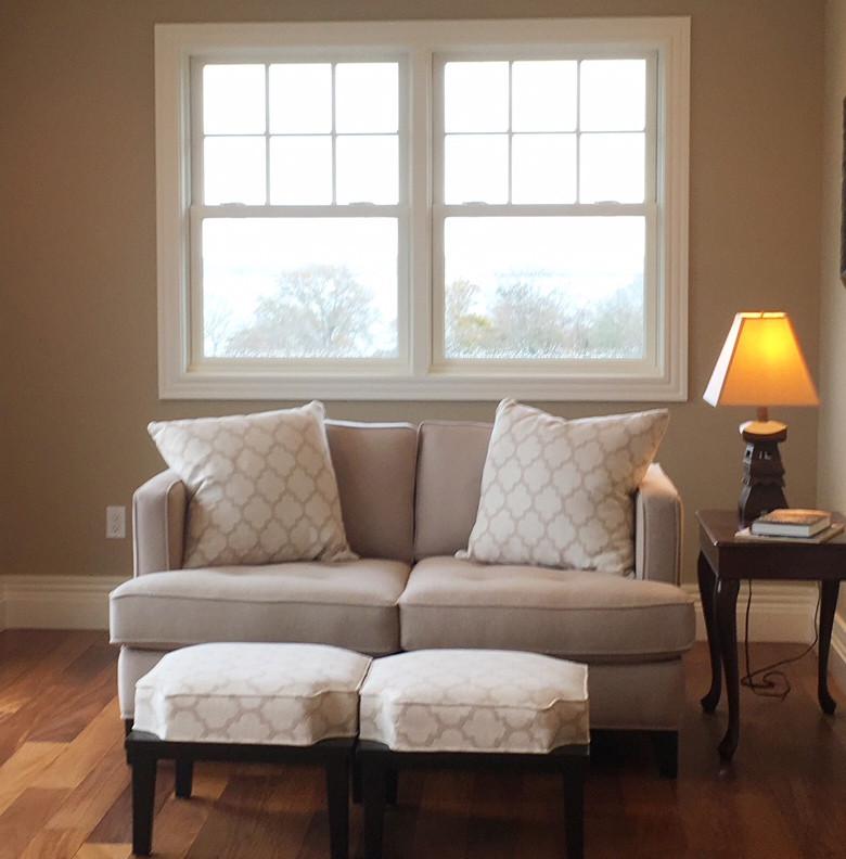Double Hung Window Sitting Room