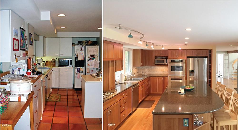 Coastal Kitchen Renovation