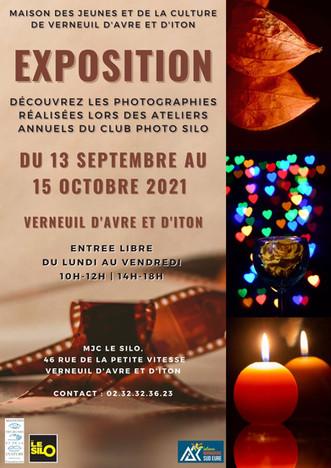 A partir du 13 septembre, découvrez les photographies d'ateliers du Club Photo à la MJC Le SILO