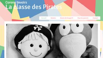 Un site internet crée par une institutrice de l'école maternelle Croix Saint Pierre à destinatio