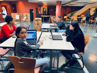 Les adhérents du Secteur Jeunesse ont participé à la semaine du numérique du 1er au 05 octobre.