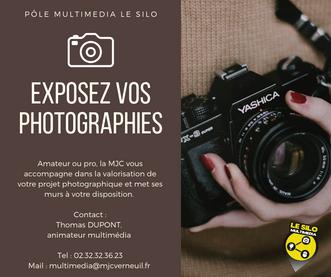 Appel à projets : Exposez vos photos à la MJC Le Silo