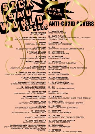 Sick Sad World : une playlist musicale solidaire à découvrir, qui regroupe des reprises de titres de