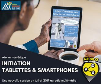 Atelier numérique : prise en main de votre tablette ou smartphone