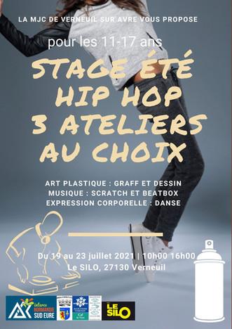 Un stage hip hop pour les 11/17 ans au Silo cet été : Beatbox, Scratch, Danse et Graff au programme