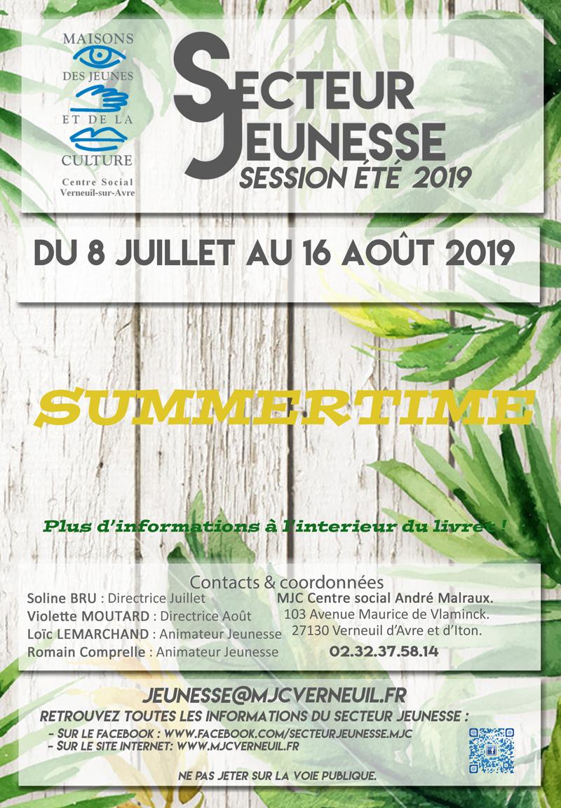 programme Jeunesse MJC Verneuil - contac