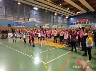 Retour en images sur la sortie du Secteur Jeunesse au match de Volley à Evreux, le 18/01/2020