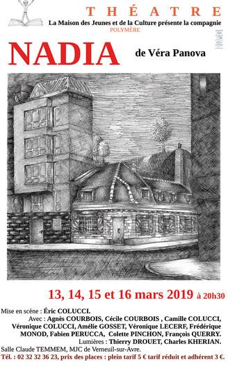 Théâtre : La compagnie Polymère jouera la pièce Nadia de Véra Panova à la MJC André Malraux du 13 au