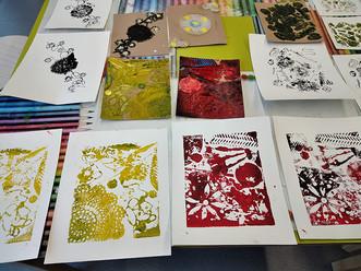 Venez participer à un atelier bien-être autour de la gravure avec Eliette