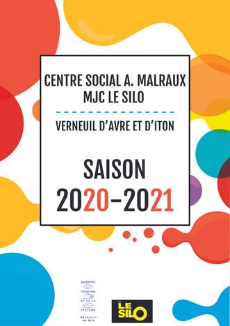 La plaquette de présentation de la MJC pour la saison 2020 - 2021 est sortie !