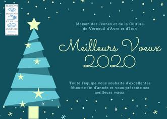La MJC vous souhaite d'excellentes fêtes de fin d'année!